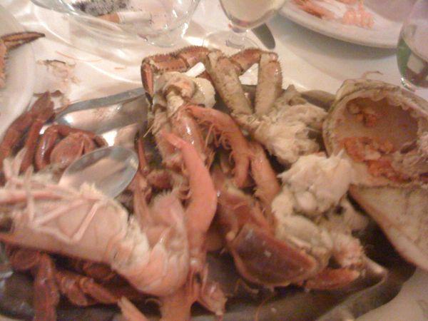 QuePasaRd.Net: Comiendo marisco en Madrid